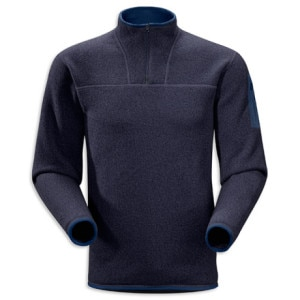 Covert Zip Neck Sweater - Men's