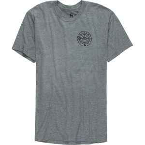 Mountain Medallion Front and Back Graphic T-Shirt - Men's