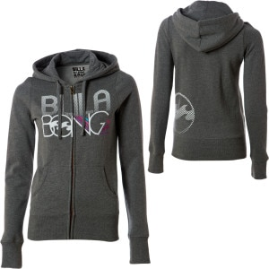 Billabong Straight A Student Full-Zip Hooded Sweatshirt - Women's - 2010