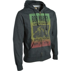 Bob Marley Live Full-Zip Hoody - Men's