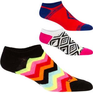 Toe Jammin Ankle Sock - Women's - 3 Pack