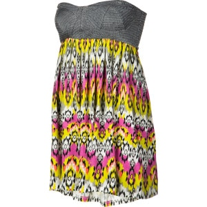 Mix'n It Up Bandeau Dress - Women's