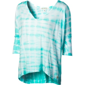 Billabong By My Side V-Neck Shirt - 3/4-Sleeve - Women's