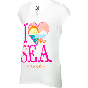 I Want To Sea T-Shirt - Short-Sleeve - Girls'