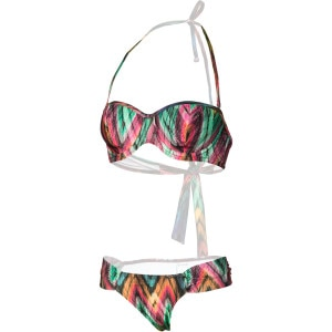 Illuminate Bandeau Tropic Bikini Set - Women's