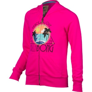 Beachy Dream Full-Zip Hoodie - Girls'