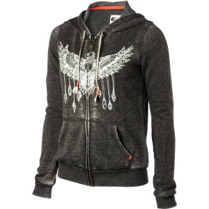Wings Of Love Full-Zip Hoodie - Women's