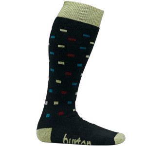Polka Square Sock - Women's