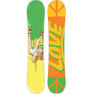 Burton Love Restricted Snowboard - Wide - 2010
