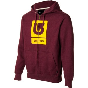 Burton Logo Vertical Full-Zip Hoodie - Men's