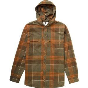 Ruckus Flannel Hooded Shirt - Long-Sleeve - Men's