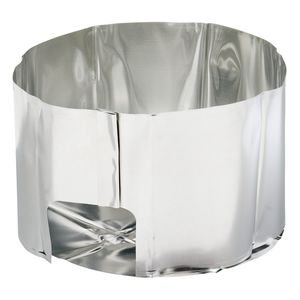 Solid Heat Reflector with Windscreen