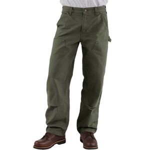 Double-Front Washed Duck work Dungaree Pant - Men's