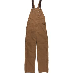 Quilt-Lined Sandstone Bib Overall Pant - Men's