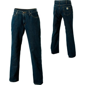 Relaxed-Fit Flannel Lined Denim Pant - Women's