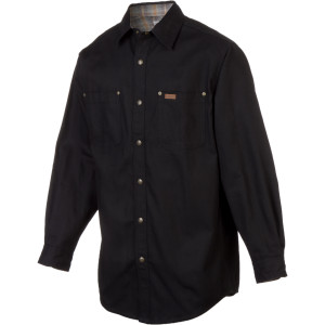 Canvas Flannel Lined Shirt Jac - Men's