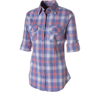 Roll-Up Plaid Shirt - Long-Sleeve - Women's