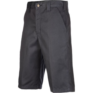 Twill Work Short with Cell Phone Pocket - Men's