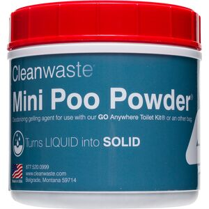 Mini 55-Use Poo Powder Waste Treatment