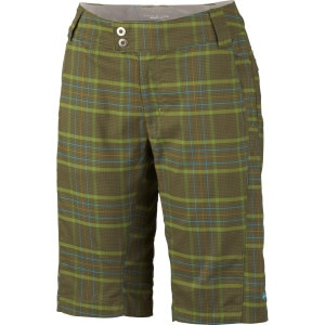 Saturday Trail Stretch Plaid Short - Women's