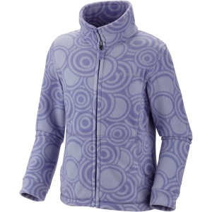 Explorer's Delight Printed Fleece Jacket - Girls'