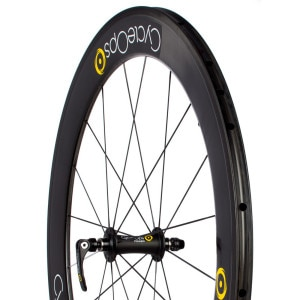 PowerTap 65mm G3 Carbon Tubular Wheelset