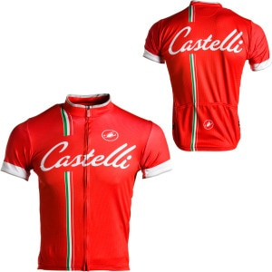 Podium Collection - Ganna Red Jersey - Short-Sleeve - Men's
