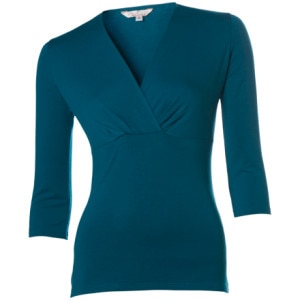 Wrap Top - 3/4-Sleeve - Women's
