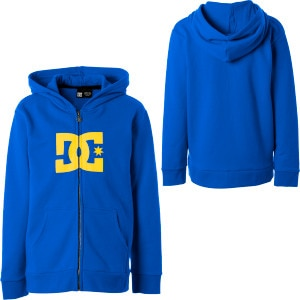 DC Star Full-Zip Hooded Sweatshirt - Boys'