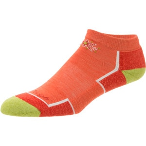 Merino Wool No-Show Cushion Running Sock - Women's