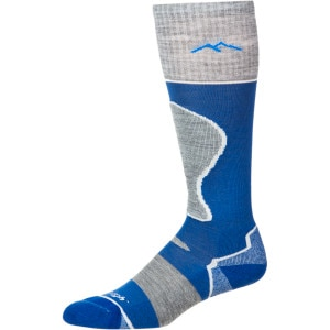 Merino Wool Over-The-Calf Padded Cushion Ski Sock - Women's