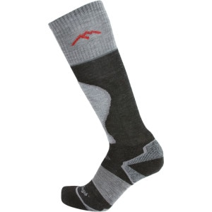 Merino Wool True Seamless Over-The-Calf Padded Cushion Ski Sock - Men's