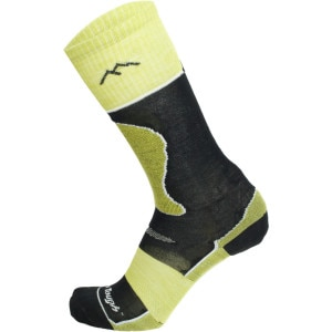 Merino Wool Over-The-Calf Padded Ultra-Light Ski Sock - Kids'