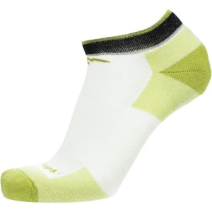 Merino Wool No-Show Cushion Running Sock - Men's