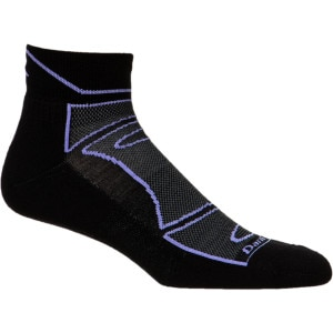 True Seamless 1/4 Light Cushion Sock - Women's