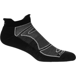 True Seamless No-Show Light Cushion Running Sock - Men's