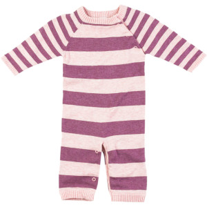 Striped Knit Layette - Infant Girls'