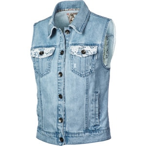 Maleena Denim Vest - Women's