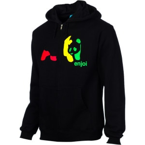 Enjoi Rasta Panda Full-Zip Hoodie - Men's  - 2012