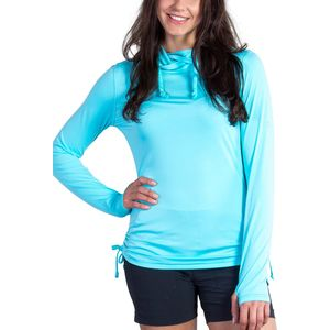 Sol Cool Ultimate Hooded Shirt - Long Sleeve - Women's