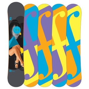 Forum Youngblood DoubleDog Snowboard - Wide - 2011