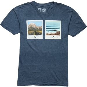Hippy Tree Polaroid T-Shirt - Short-Sleeve - Men's