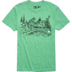 Hippy Tree Trout T-Shirt - Short-Sleeve - Men's