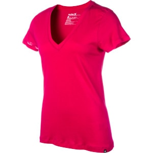 Solid Perfect V-Neck T-Shirt - Short-Sleeve - Women's