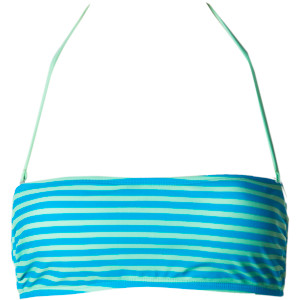 Surfside Stripe Two-fer Bikini Top - Women's