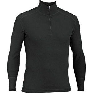 Woolies Zip T-Neck Shirt - Men's