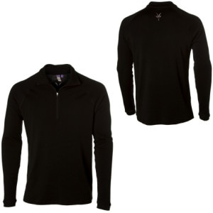 Zepher Zip T-Neck Crew - Long-Sleeve  - Men's