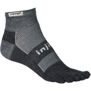 Run Original Weight NuWool Mini-Crew Toe Sock