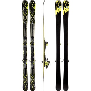Charger Ski with Marker MX 12.0 Binding