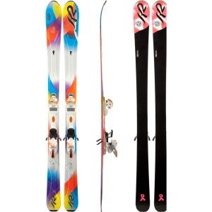 SuperStitious Ski with Marker ERS 11.0 TC Binding - Women's